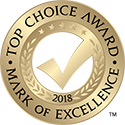 Top Choice Award Winner 2018