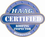 HAAG Certified Roofing Inspector Logo